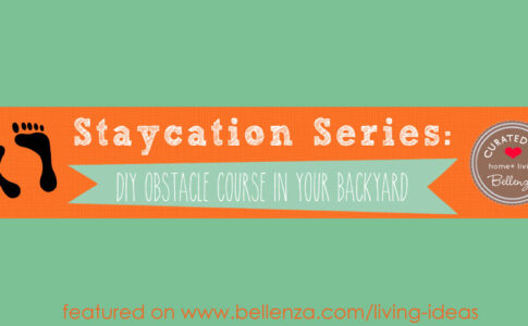 Staycation Series- Build a DIY Obstacle Course in Your Backyard!