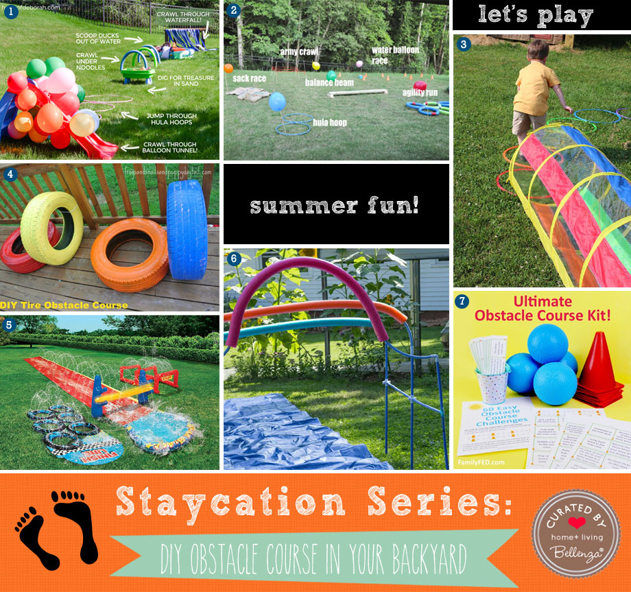 Backyard Obstacle Course Ideas for Kids' Summer Fun