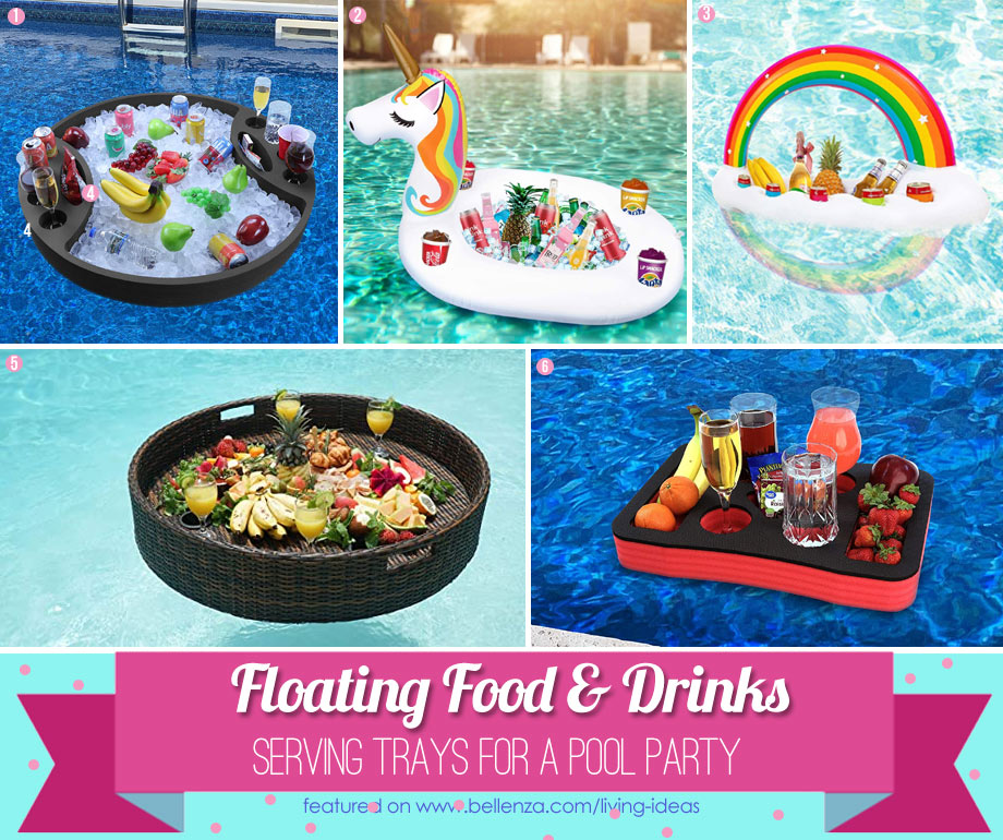 Floating Pool Bars and Trays You Can Buy
