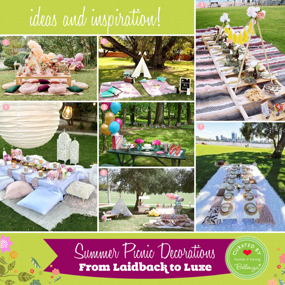 Summer Picnic Decor Ideas from Budget-friendly to Luxe
