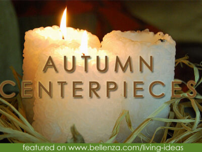 Easy Table Centerpieces for an Intimate Fall Dinner Party