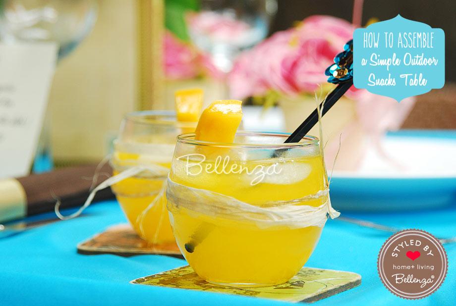 Citrus cocktails for summer