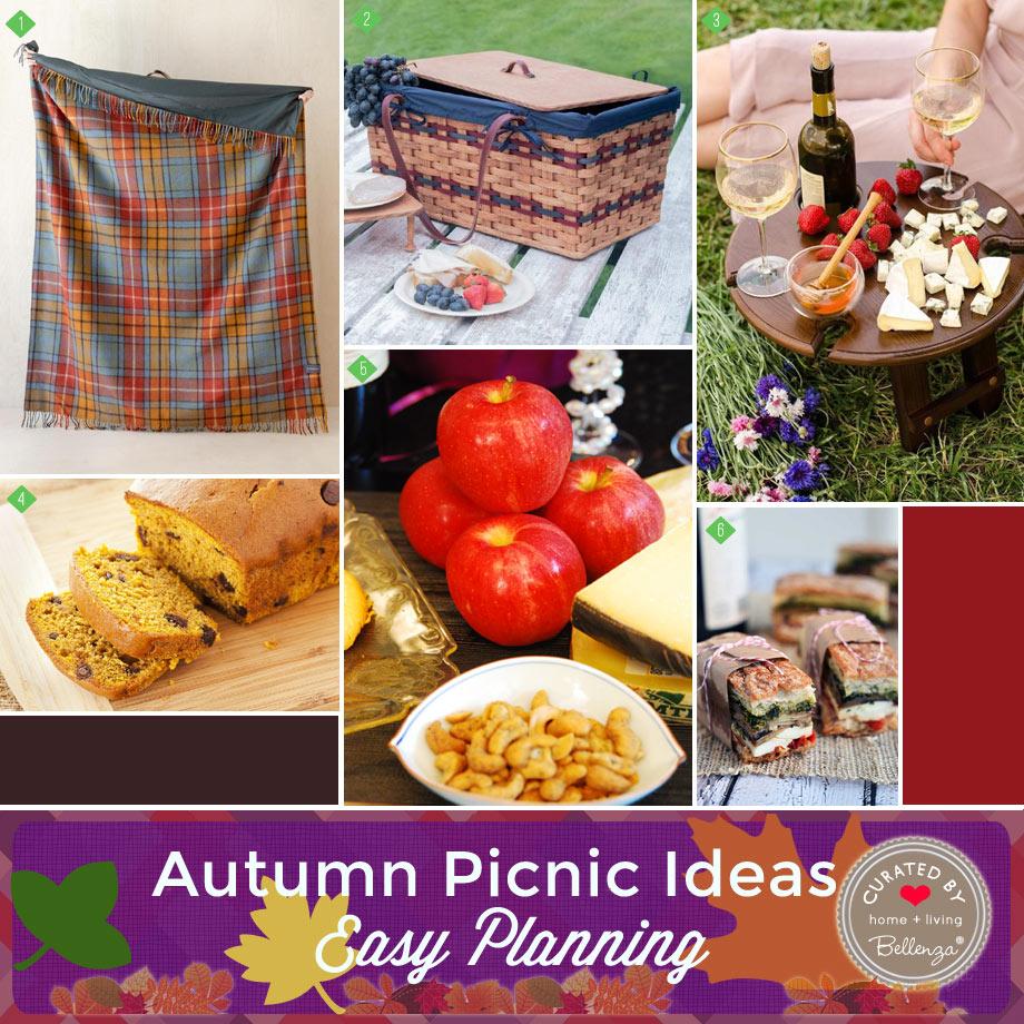 Easy fall picnic planning ideas