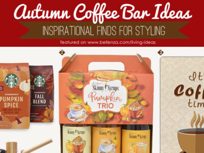 Easy fall coffee bar styling and essentials