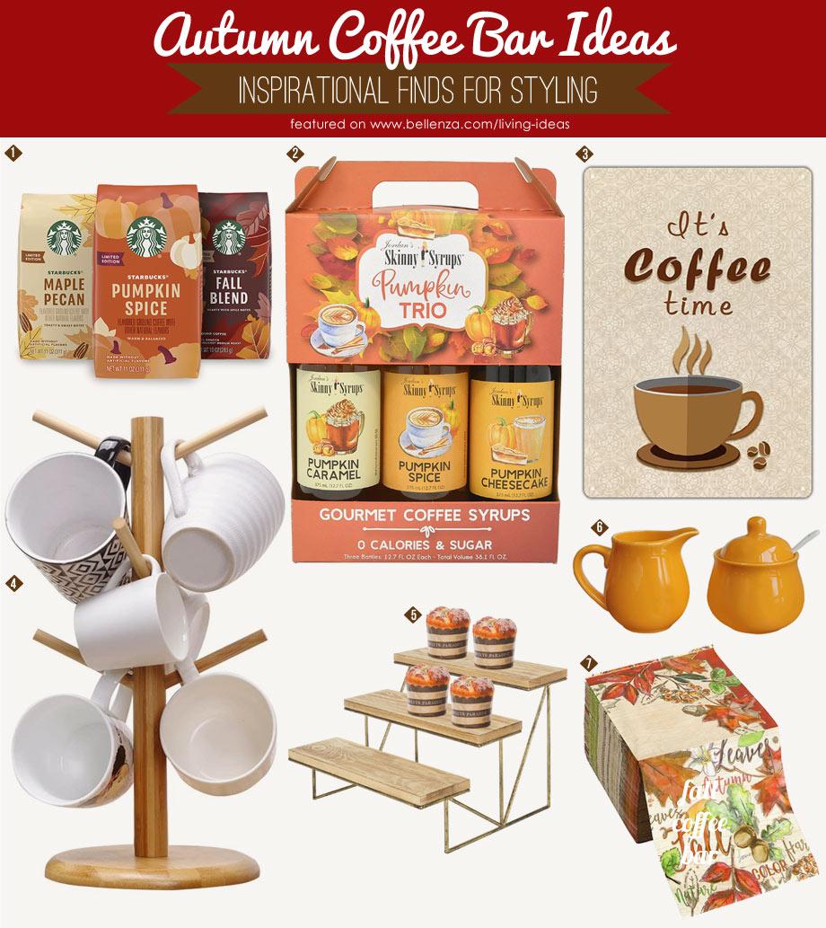 Fall coffee bar essentials