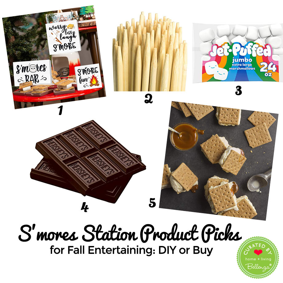 S'mores filling station essentials