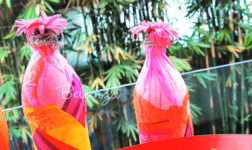 Soda Pop Art! - Recycling Bottles into Party Decorations