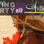 Fall foliage decorations for home parties