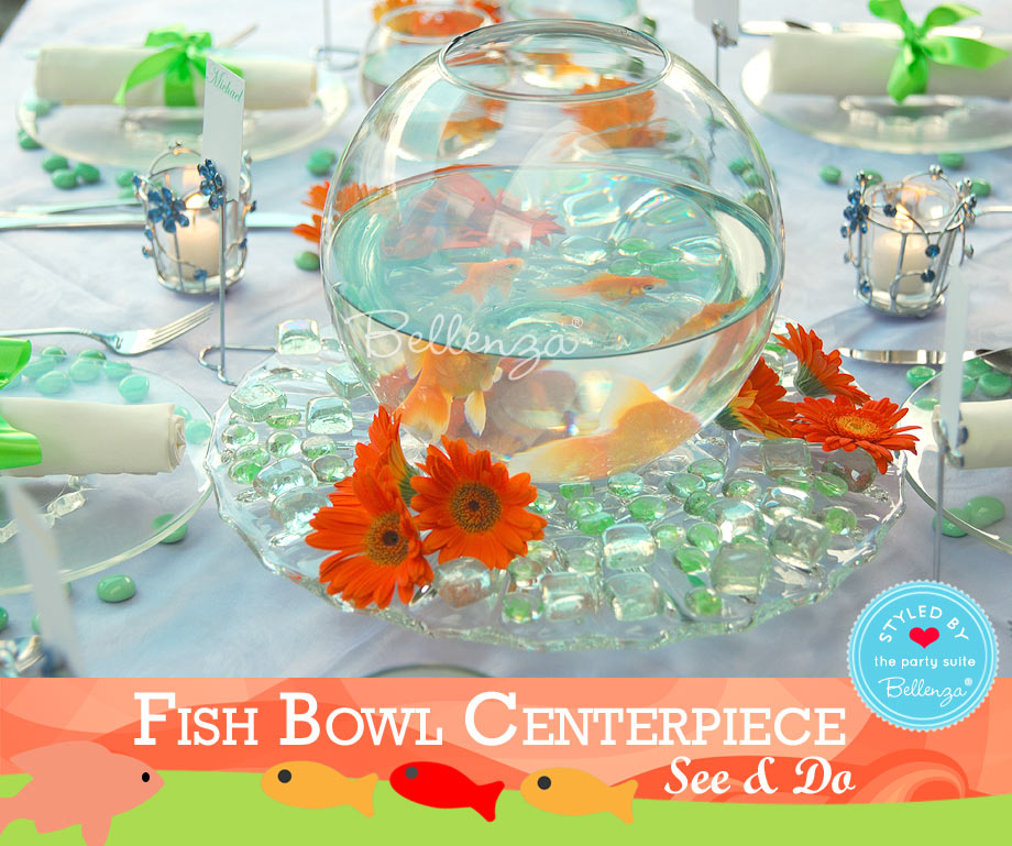 Add water, crystals or glass beads, and a glass plate to hold the bowl.