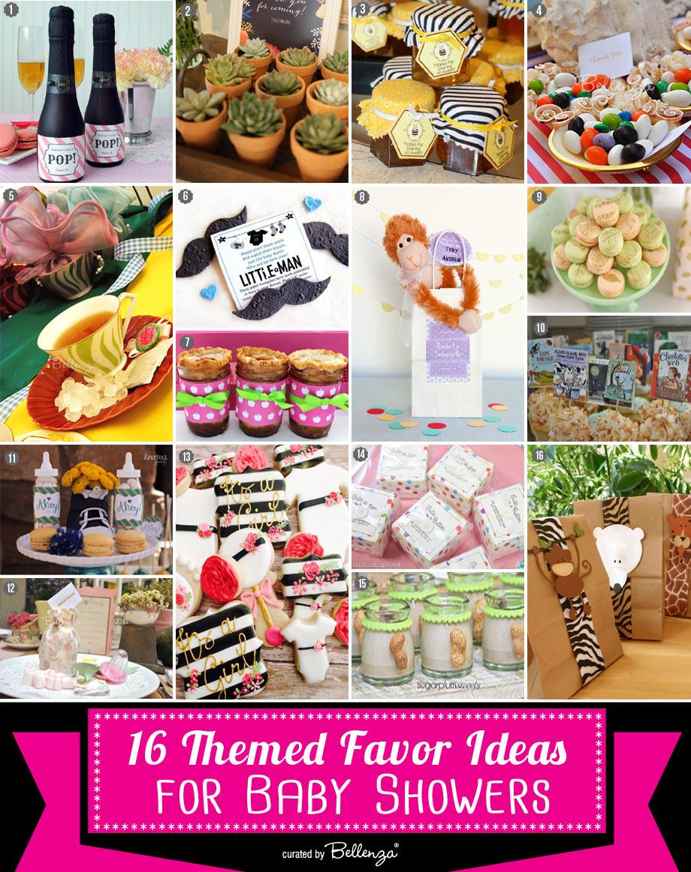 Unique baby shower themed favor ideas // The Bellenza Party Blog