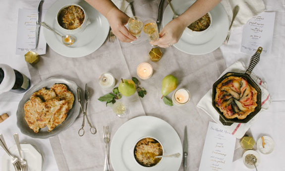 French Bistro-inspired Soiree via Eat Boutique