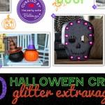 Halloween Glitter Extravaganza of Crafts