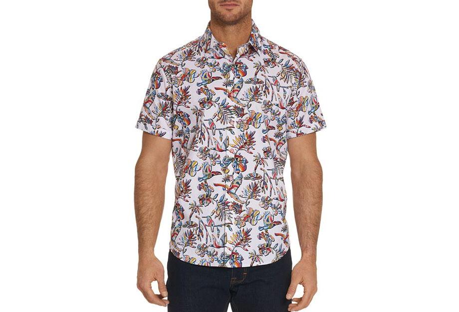 3 - Robert Graham Triggerfish Regular Fit Button-Down Shirt - via Bloomingdale's