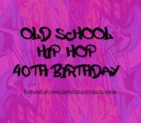 Hip Hop-themed Birthday