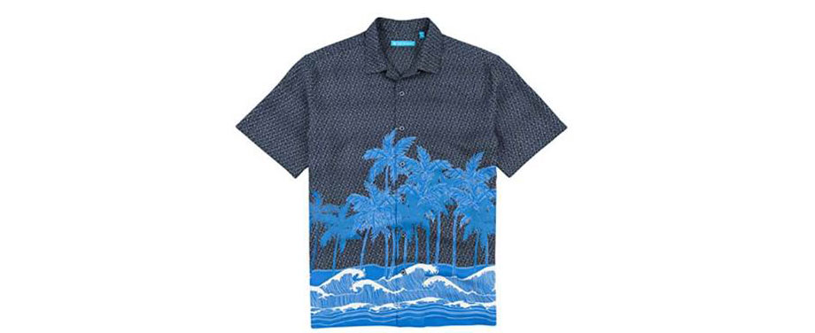 Coco Beach Camp Shirt - Black - via Amazon