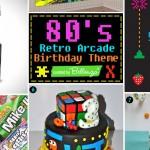 80s retro arcade birthday