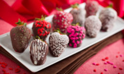 Chocolate Dipped Strawberries. Photo credit: A food centric life