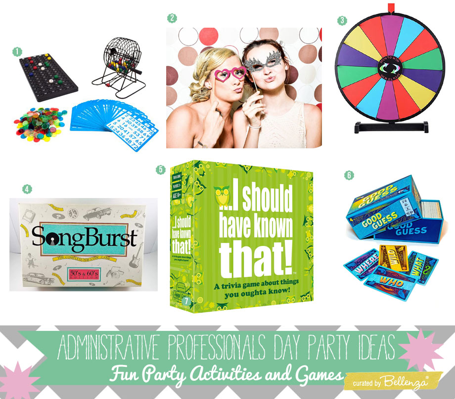 Administrative Professionals Day Party Activities
