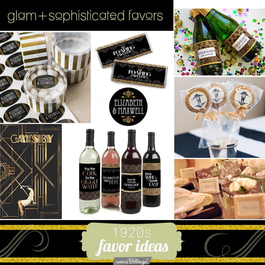 Roaring 20s favor ideas