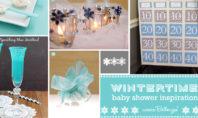 Winter Blue Baby Shower Ideas