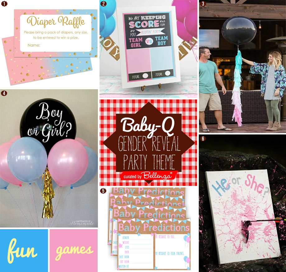 Baby Gender Reveal Activities and Games