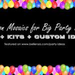 Balloon Mosaics: DIY to Kits