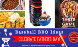Baseball-themed Ideas for a Father's Day BBQ