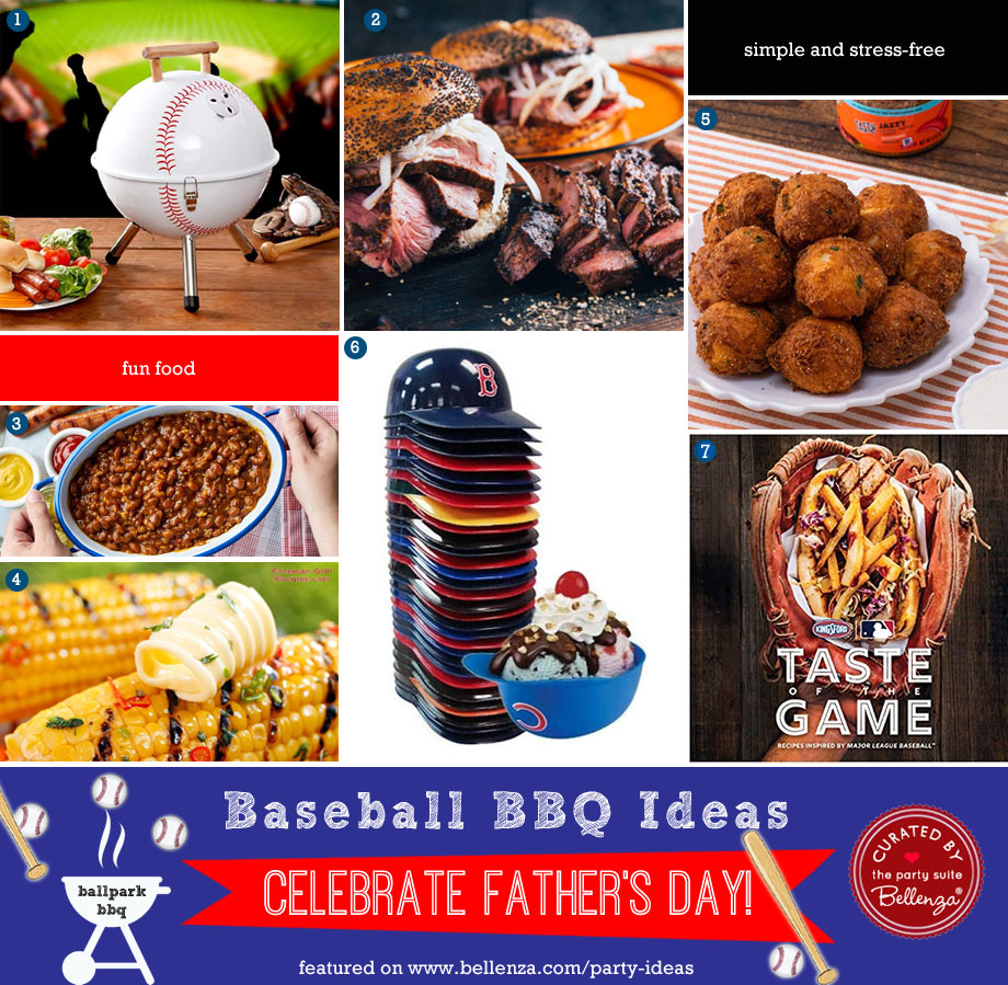 Baseball-themed Food Ideas for a Father's Day BBQ