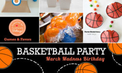 March Madness: Ideas for a Basketball-themed Boy's Birthday Party