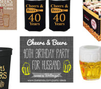 Cheers and Beers 40th Birthday for Husband