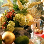 How to Make a Tropical Asian-inspired Centerpiece for Christmas