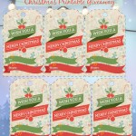 Bellenza Holiday Calendar and Gift Tags Printable Giveaway!