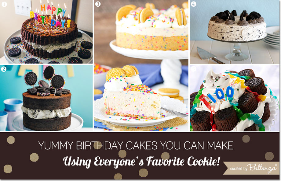 Oreo-inspired Birthday Cake Inspiration Curated by Bellenza.