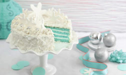 Blue velvet coconut torte cake via Betty Crocker