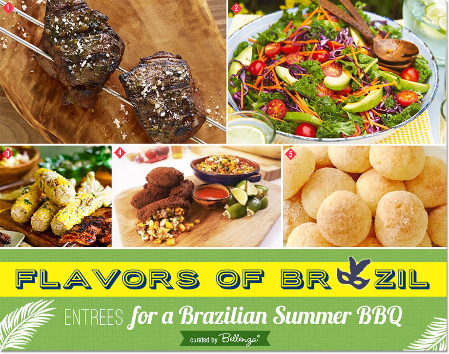 Brazilian BBQ Menu Ideas for a Summer Olympics BBQ Party