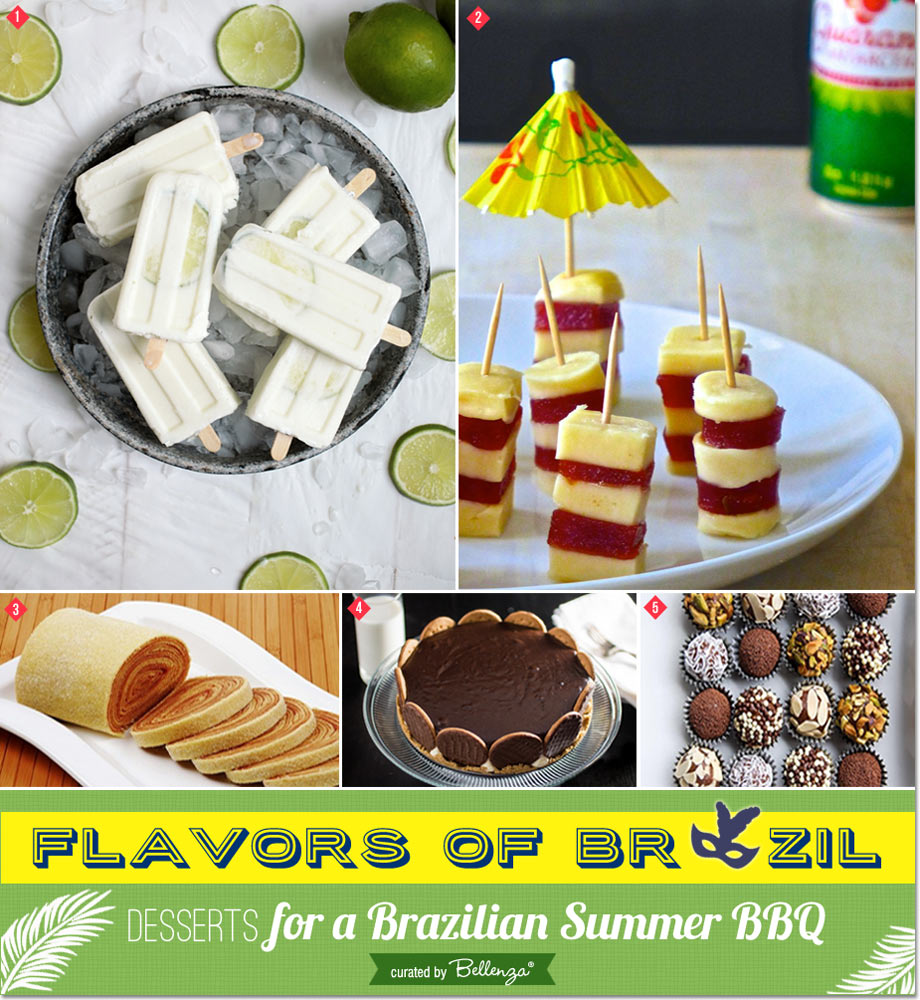 Brazilian Dessert Ideas // a Brazilian Olympic BBQ Party