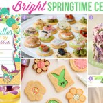 Bright and budget-friendly spring birthday for adults