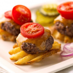 Mini burger bites from Decor Great