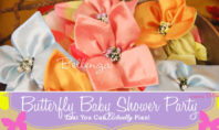 Butterfly Baby Shower Party for a Spring Celebration