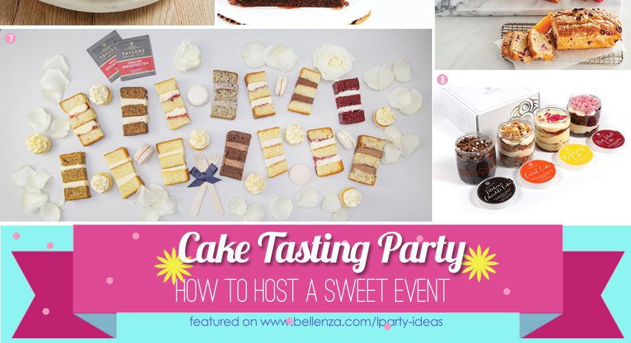 How to plan a fun cake tasting party