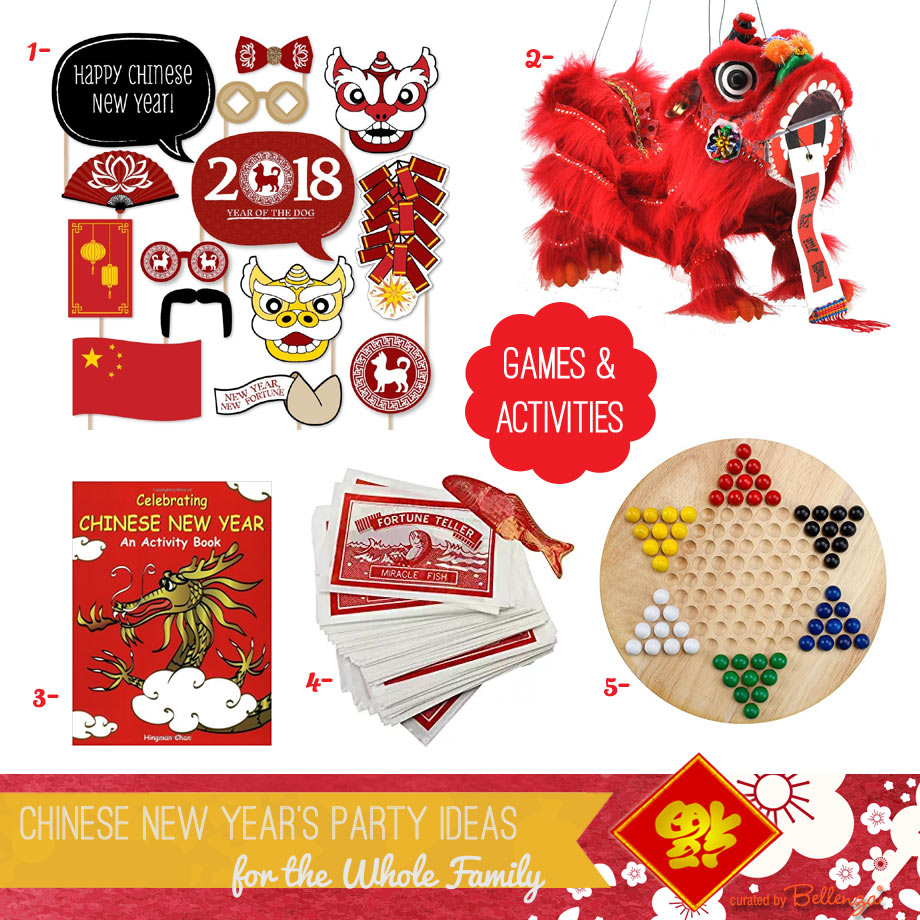 Chinese New Year Activities and Games