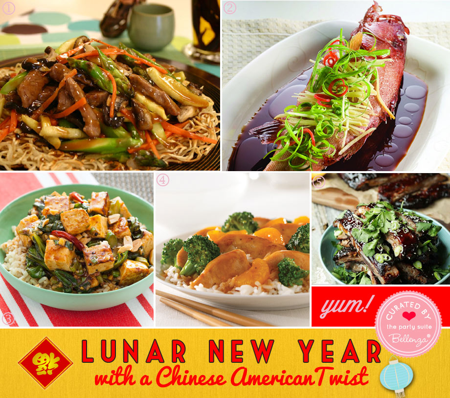Easy recipes for Chinese New Year party at home