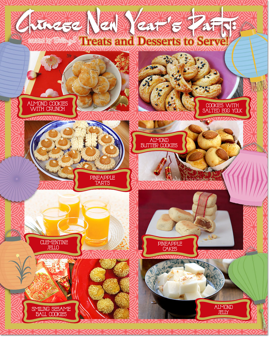 Chinese New Year Treats And Desserts From Pinele Tart To Almond Jelly