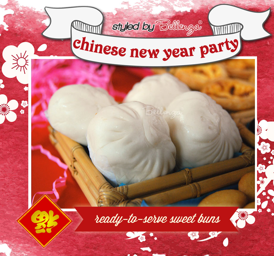 Chinese Dimsum -- food for Chinese New Year Party!