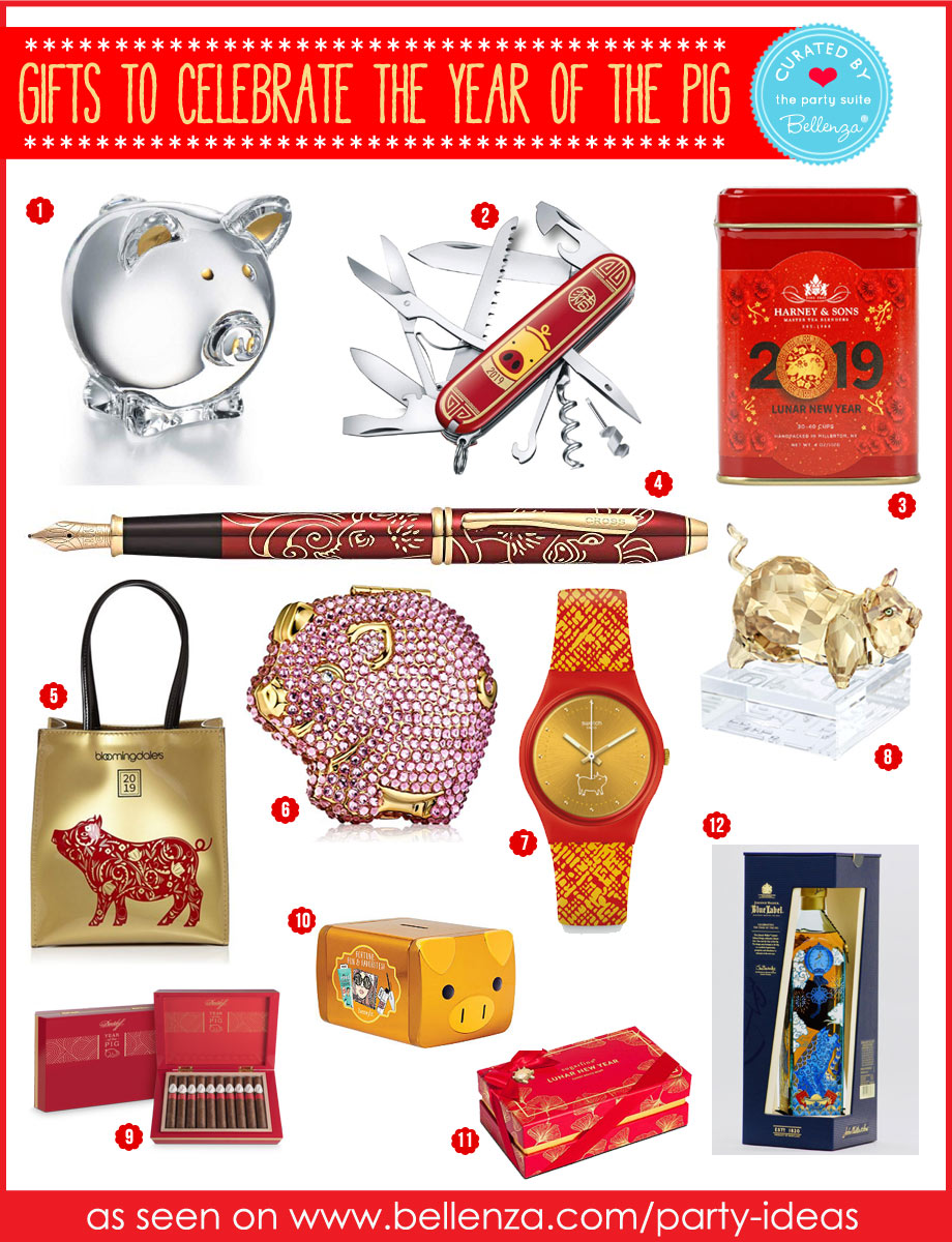 Year of the Pig Gifts for Him and Her: Stylish with a Practical Purpose