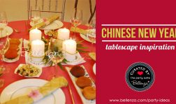 Chinese-themed Tablescapes for Lunar New Year