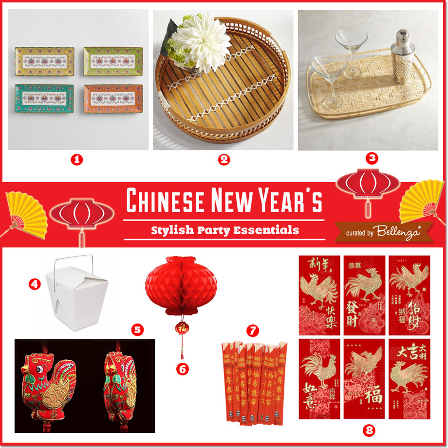 Chinese New Year Party Ware // curated by Bellenza.
