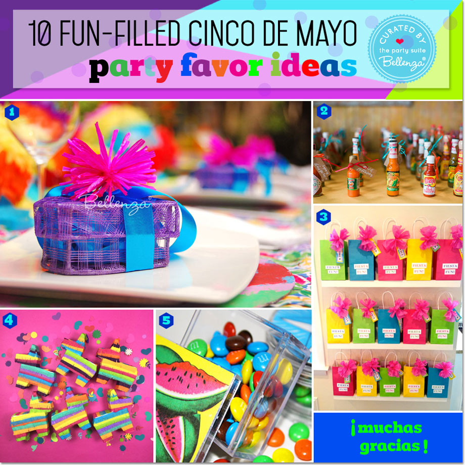 Cinco de Mayo Party Favors with a Festive Fiesta Vibe