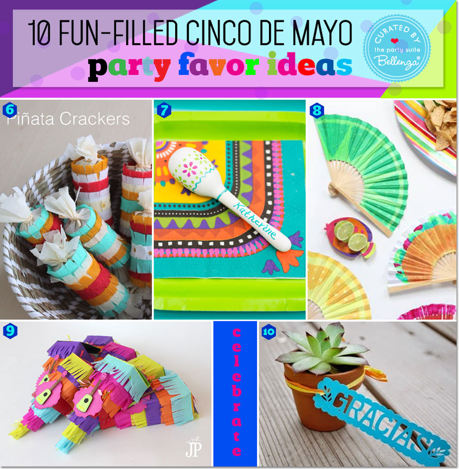 Cinco de Mayo Party Favors that are DIY and semi-DIY-able