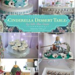 Sweet Details for a Cinderella Party Dessert Table by Violet Skies Studio.